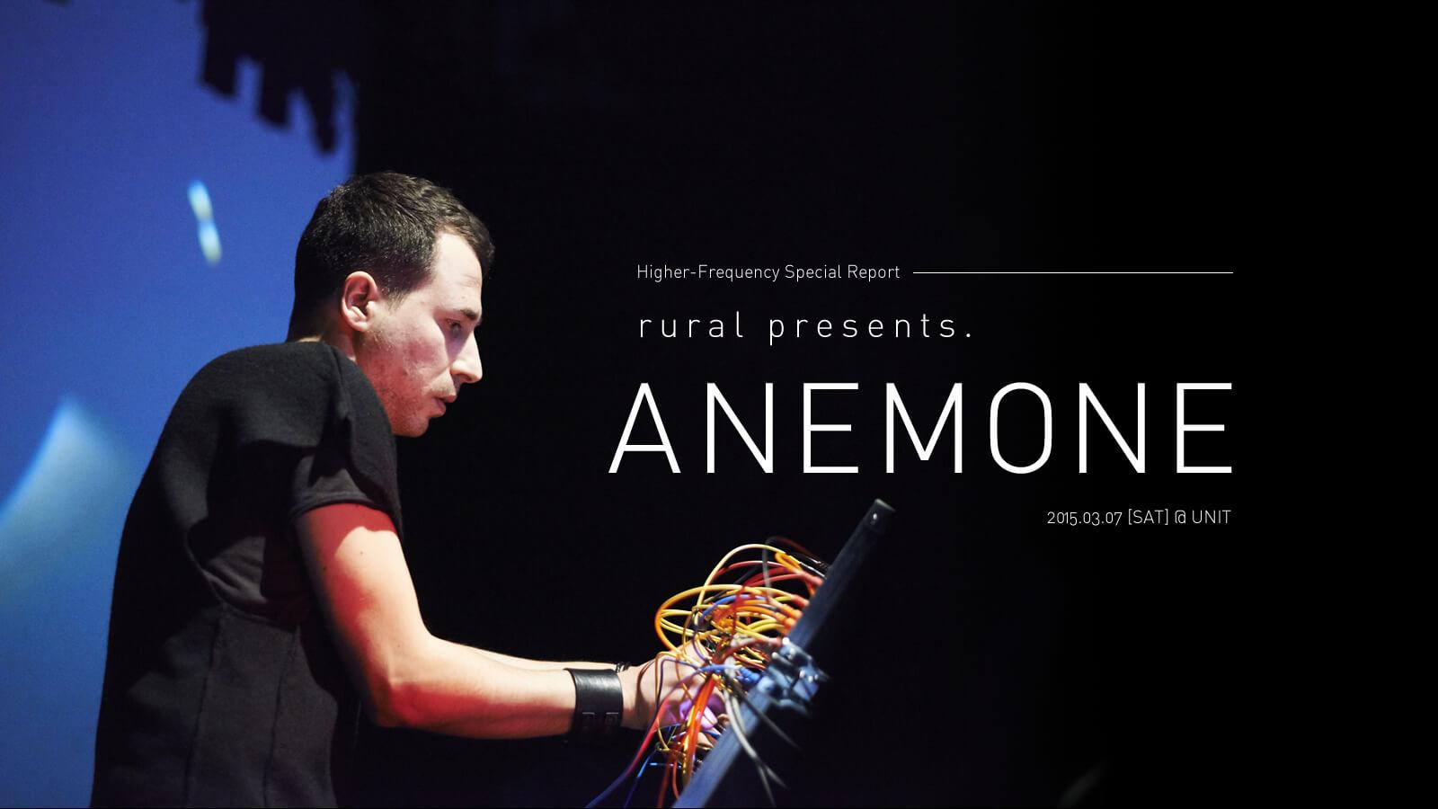 rural presents ANEMONE