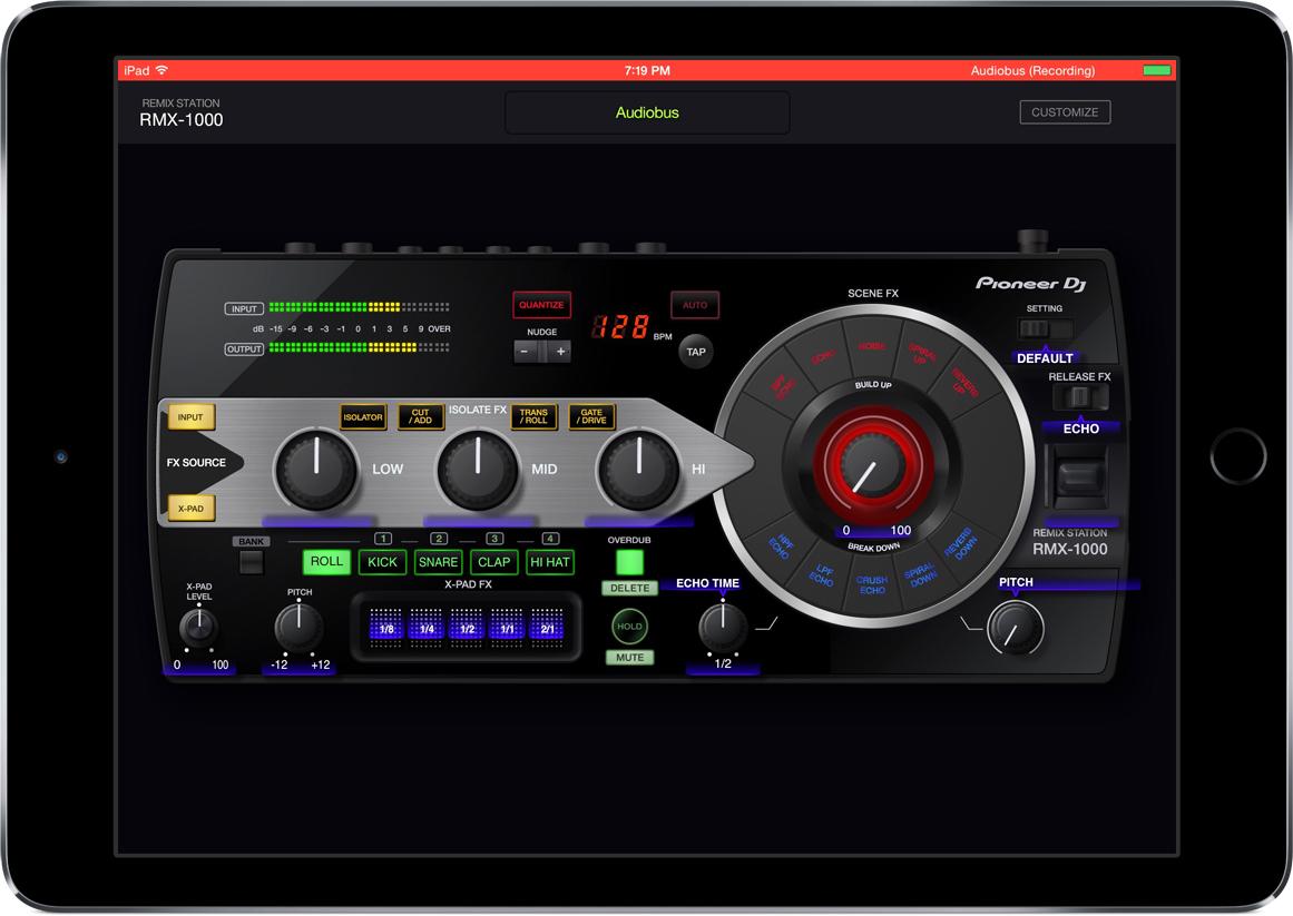 RMX-1000 audiobus