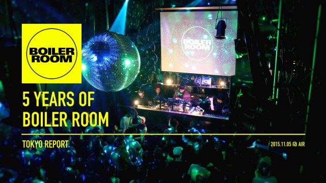 5 Years of Boiler Room