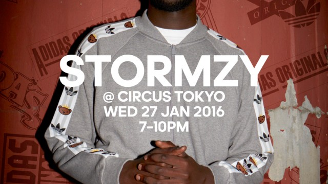 Stormzy flyer Circus Tokyo