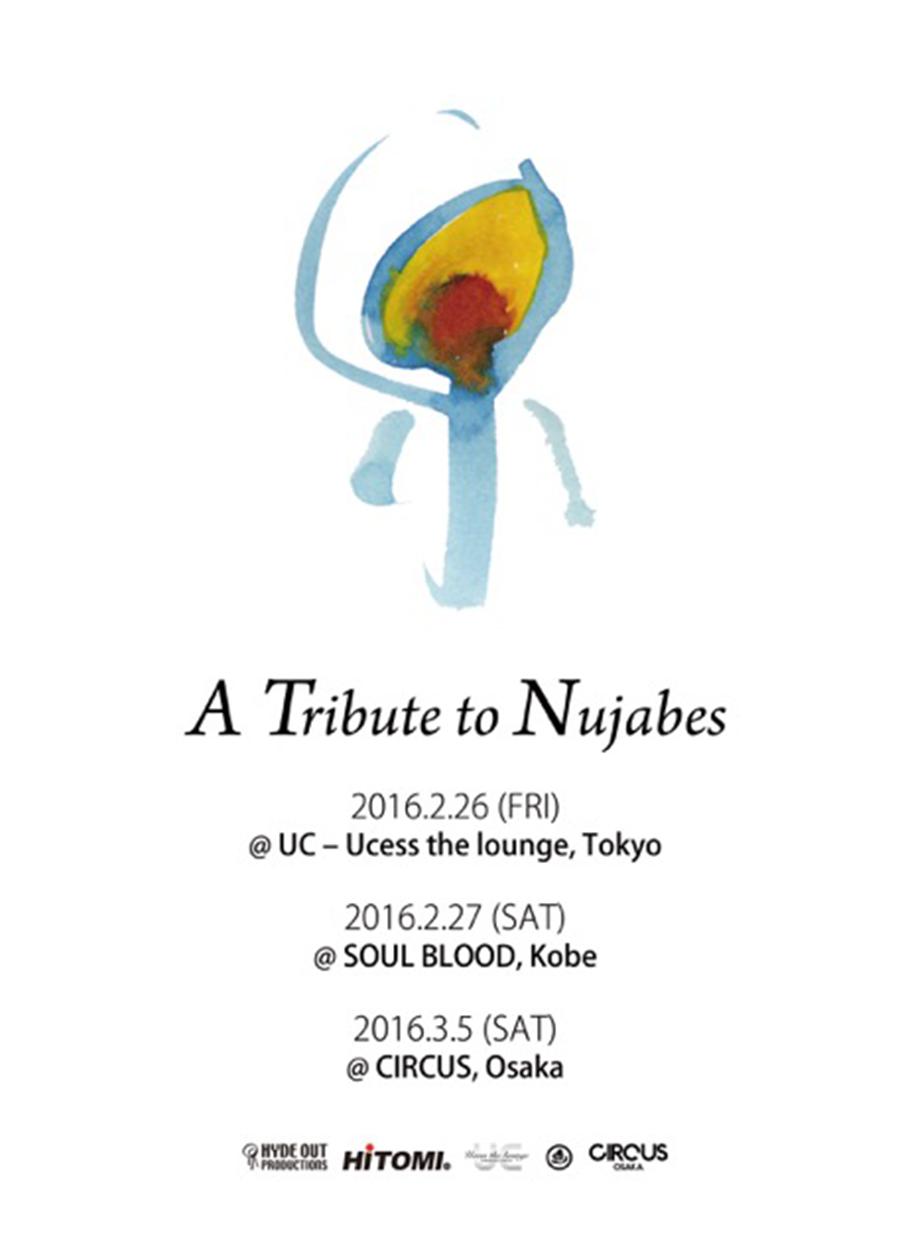 Nujabes16 tribute tour flyer