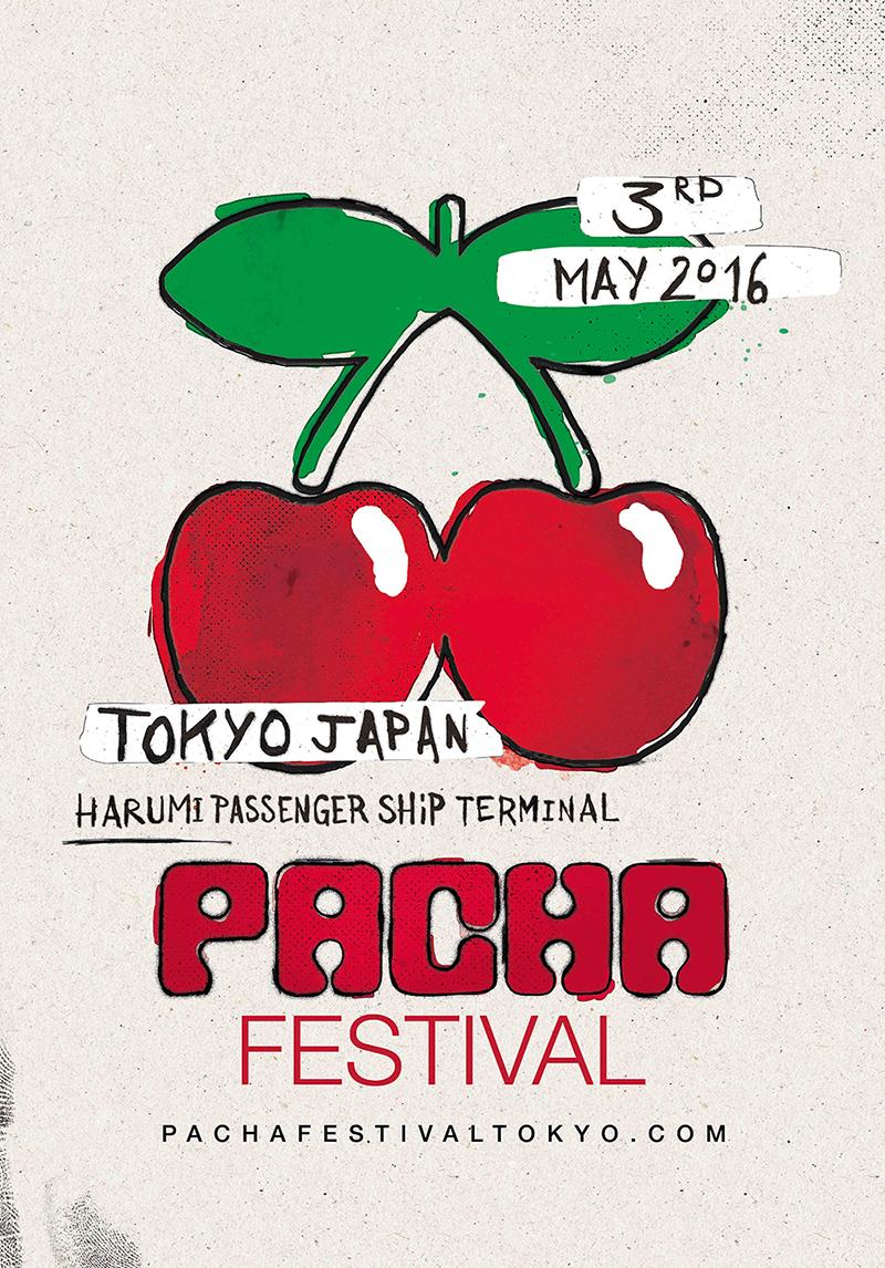 PACHA FESTIVAL TOKYO poster