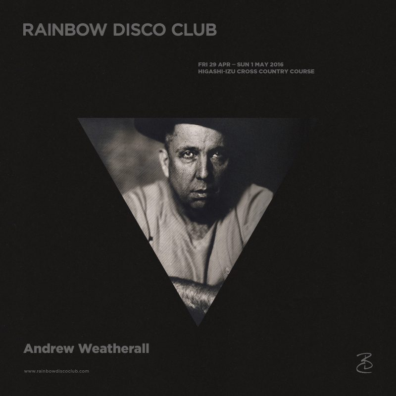 Andrew Weatherall at Rainbow Disco Club 2016