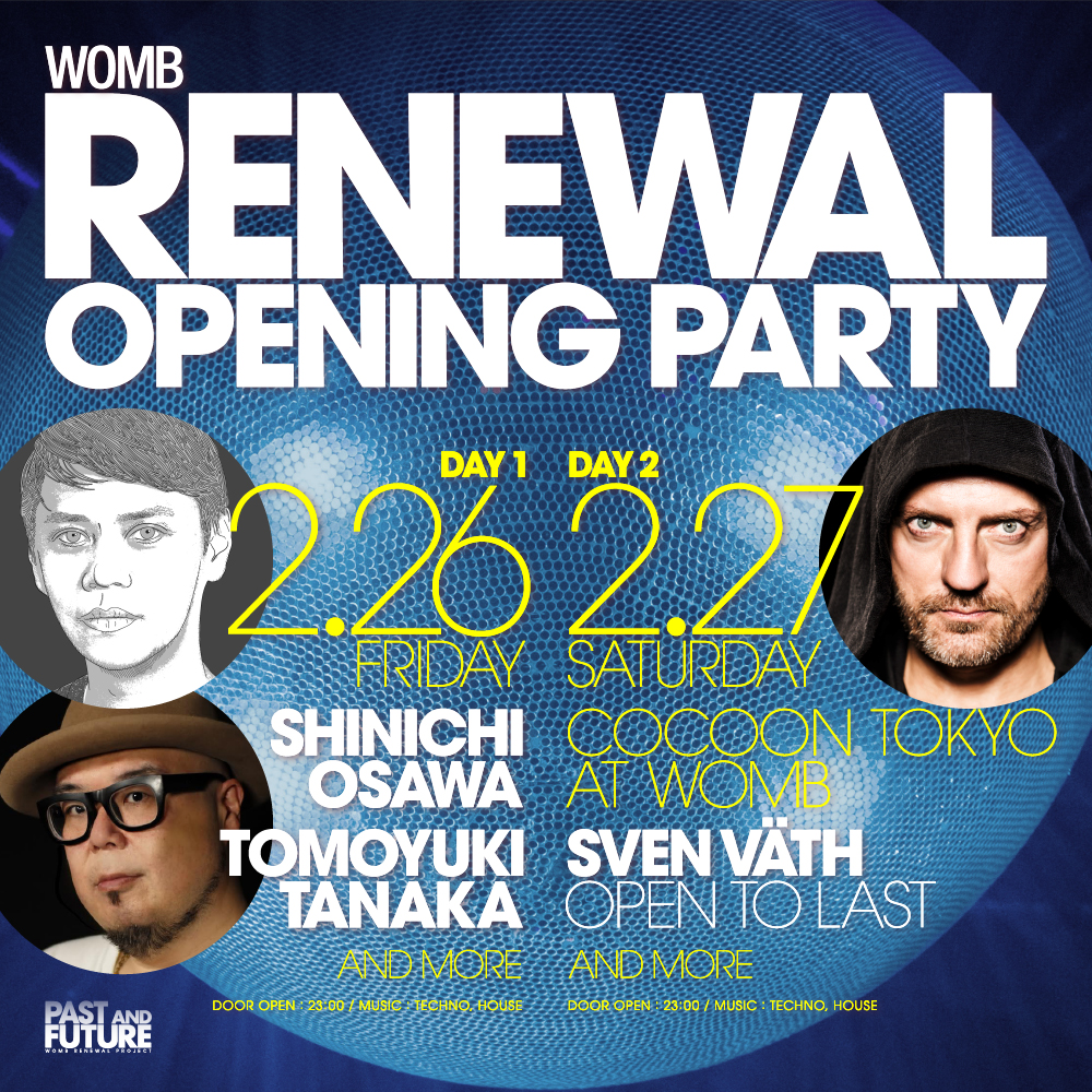 WOMB renewal Opening Party 2016