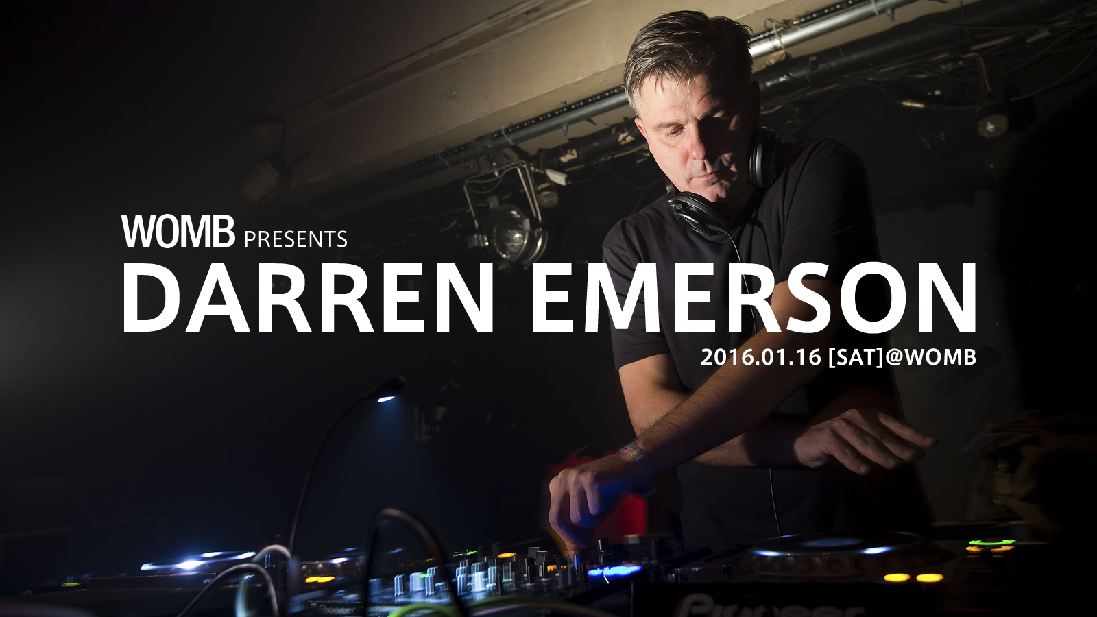 WOMB presents DARREN EMERSON