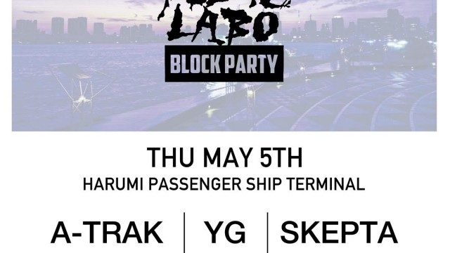 PUBLIC LABO BLOCK PARTY flyer
