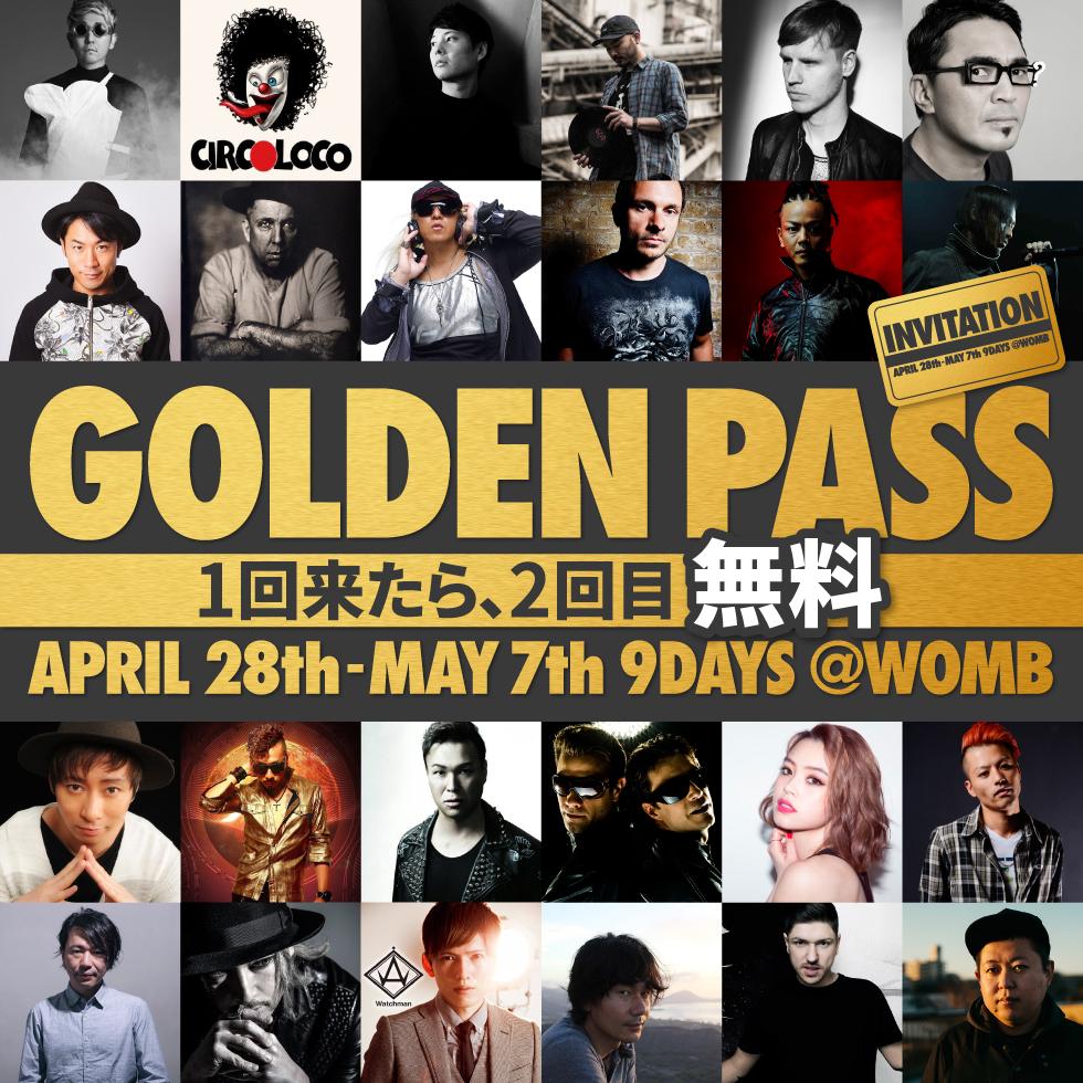 WOMB GOLDEN PASS 2016