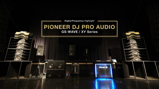 PIONEER DJ PRO AUDIO GS-WAVE / XY Series