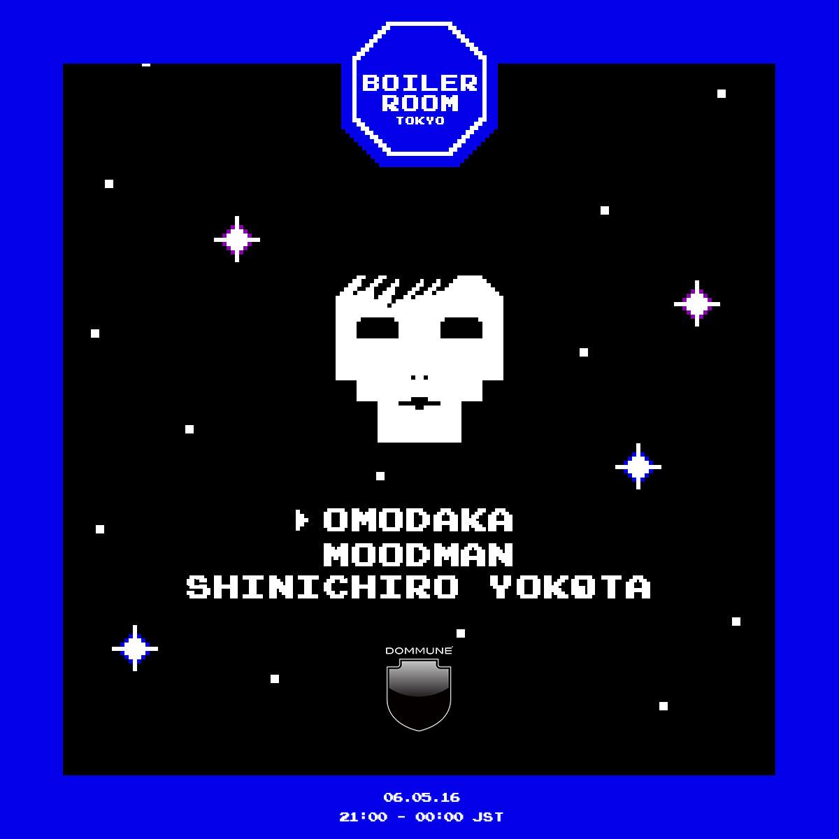 Boiler Room Tokyo OMODAKA