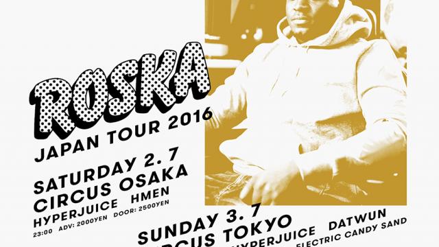 Roska Japan tour 2016