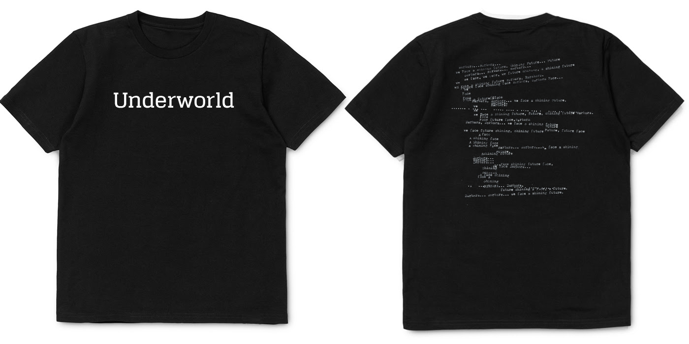 underworld t-shirts black2016