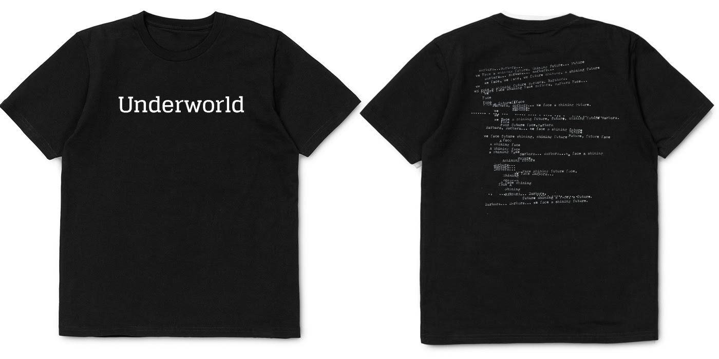 underworld t-shirts black2016