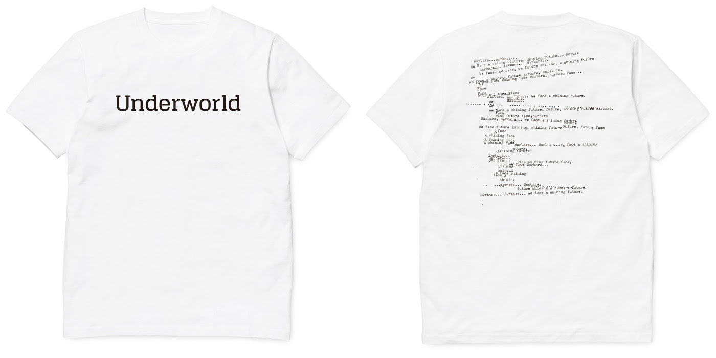 underworld t-shirts white2016