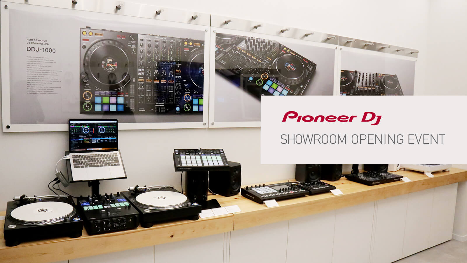 Pioneer DJ Showroom Opening Event