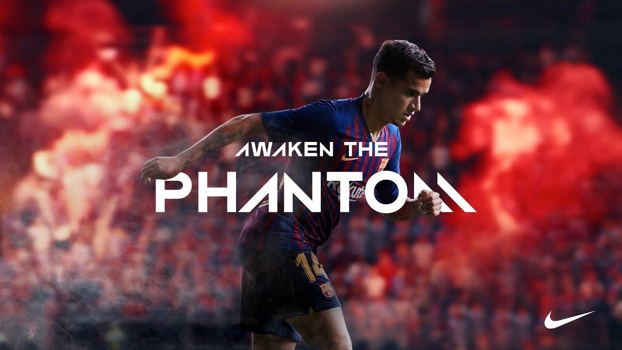 nike football awaken the phantom