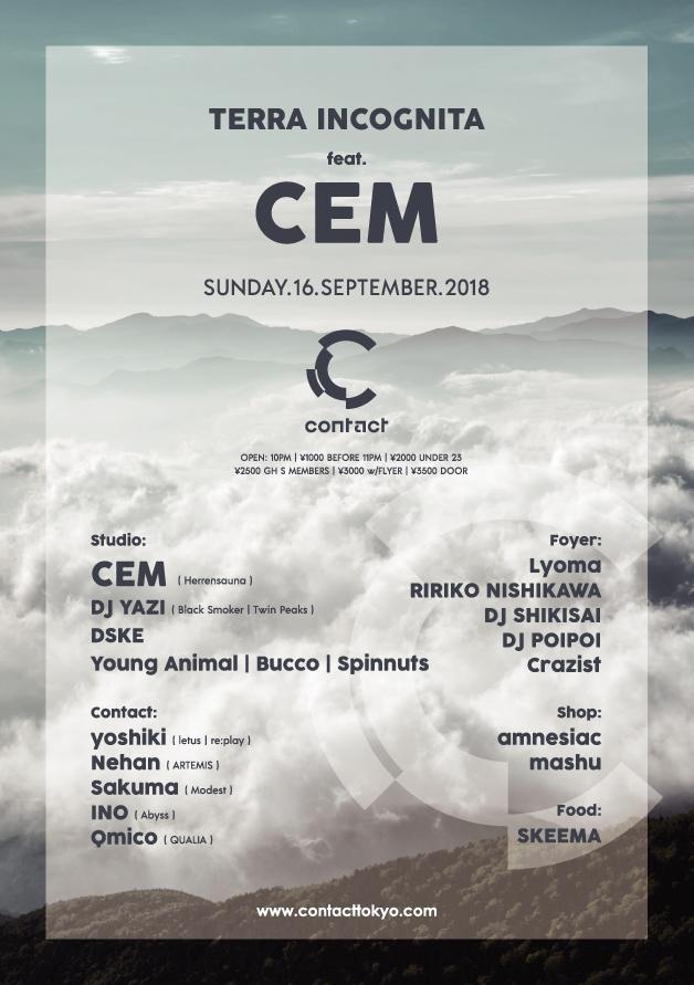 CEM - Terra Incognita Contact Tokyo
