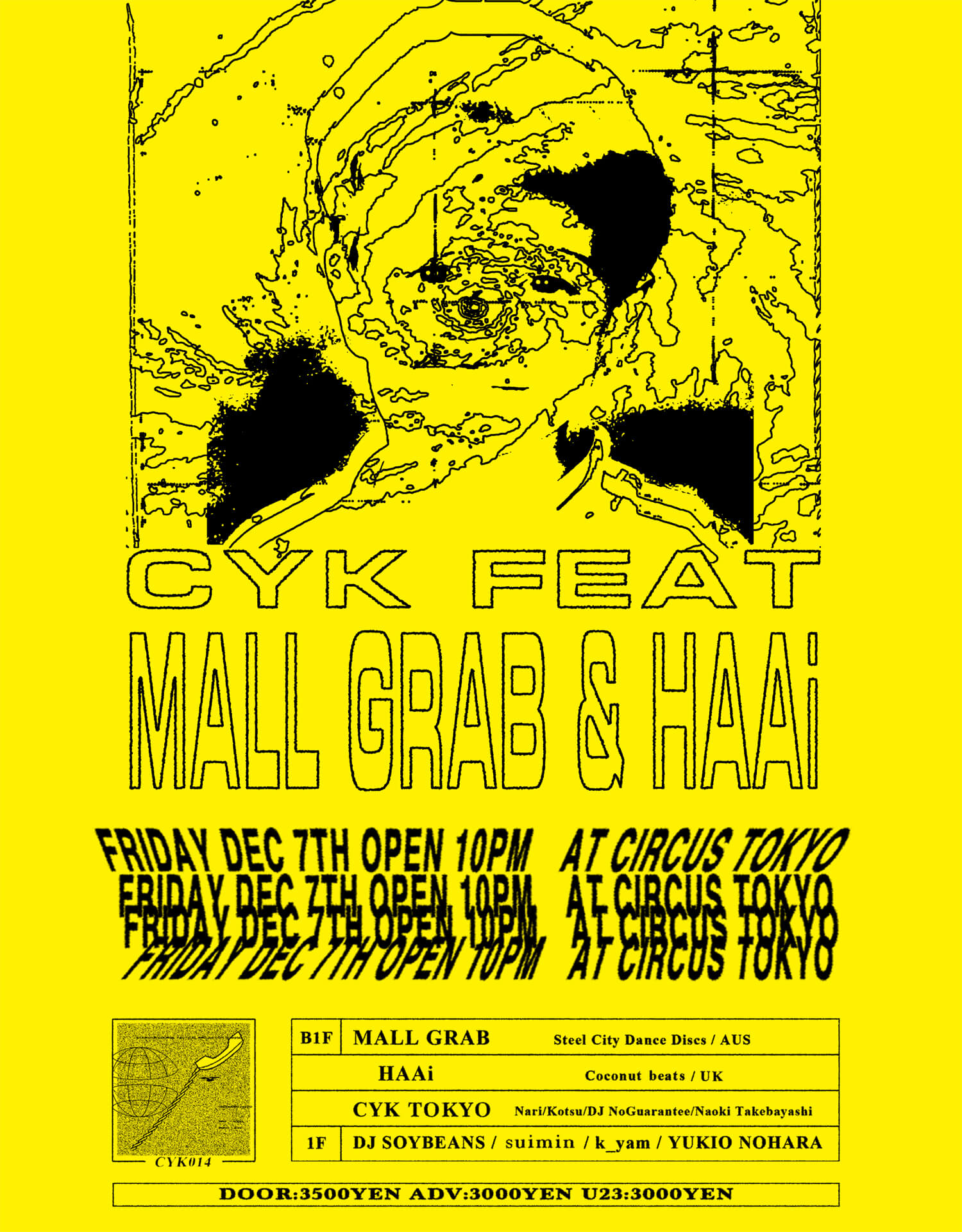 CYK Feat. Mall Grab & HAAi -Mall Grab Japan tour 2018