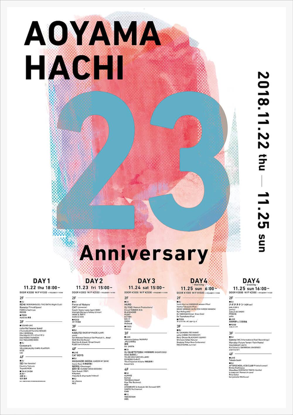 hachi 23rd