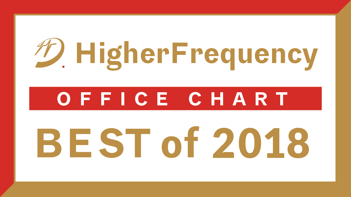 HigherFrequency Office Chart - Best of 2018