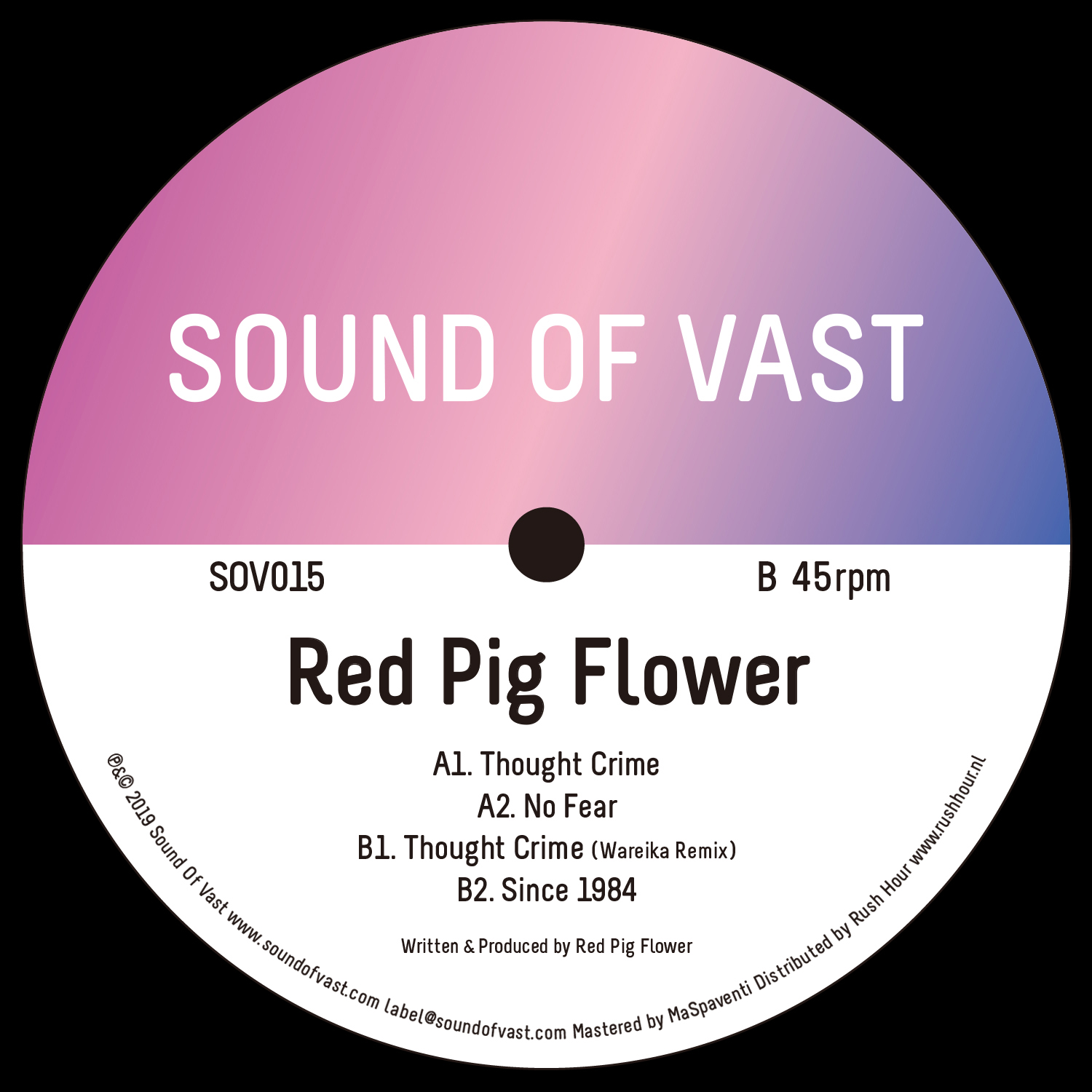 Red Pig Flower - Thought Crime EP