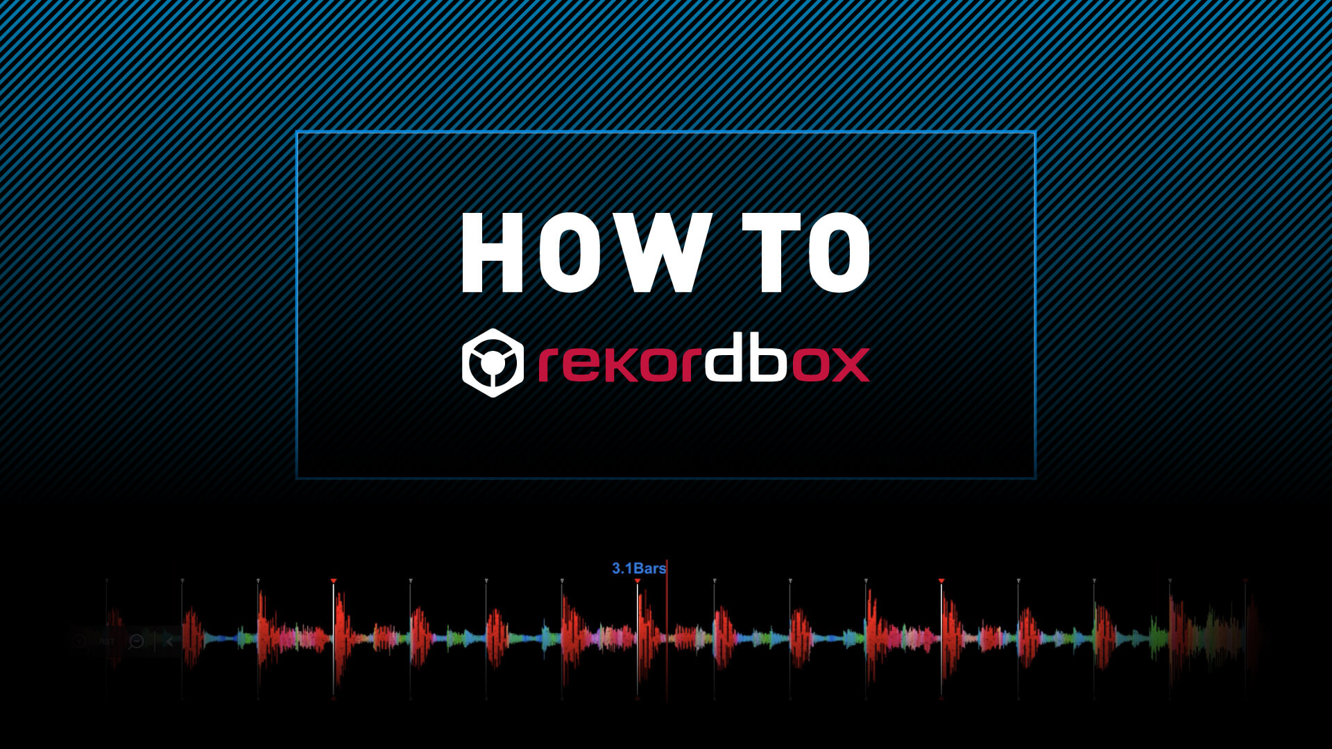 HOW TO rekordbox Vol.1