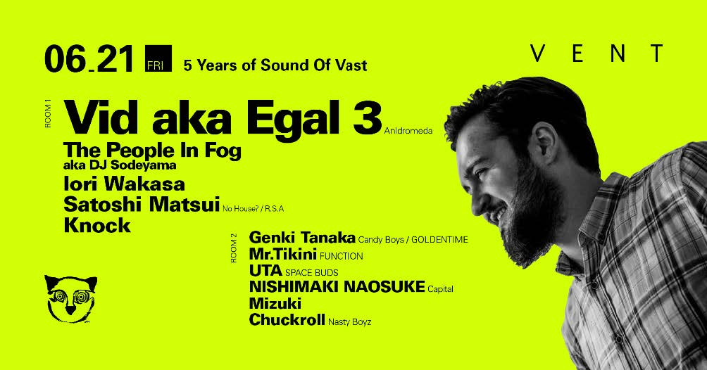 Vid aka Egal 3 at 5 Years of Sound Of Vast