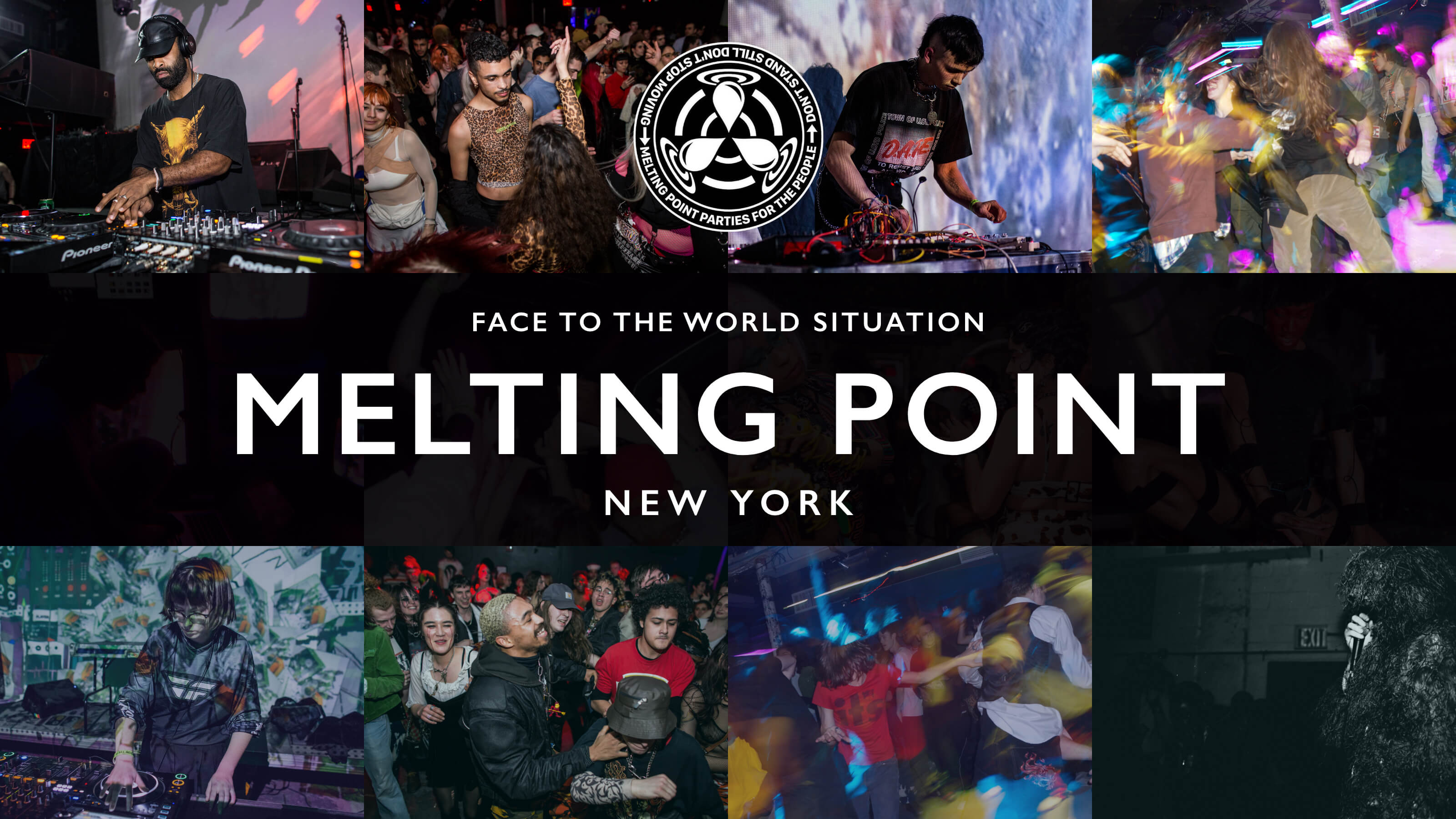 Face to the World Situation: Melting Point