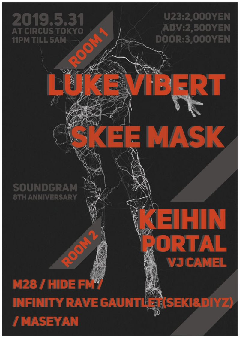 Luke Vibert × Skee Mask Soundgram 8th Anniversary