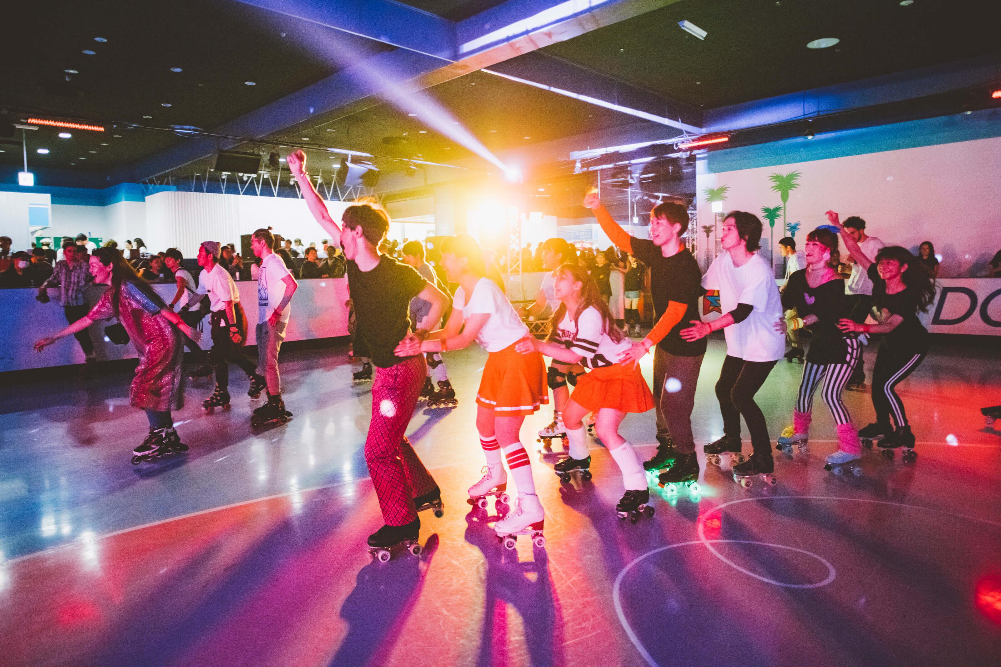 DāM-FunKA-Roller-SkateAffair