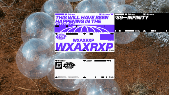 Warp Records and NTS present WXAXRXP