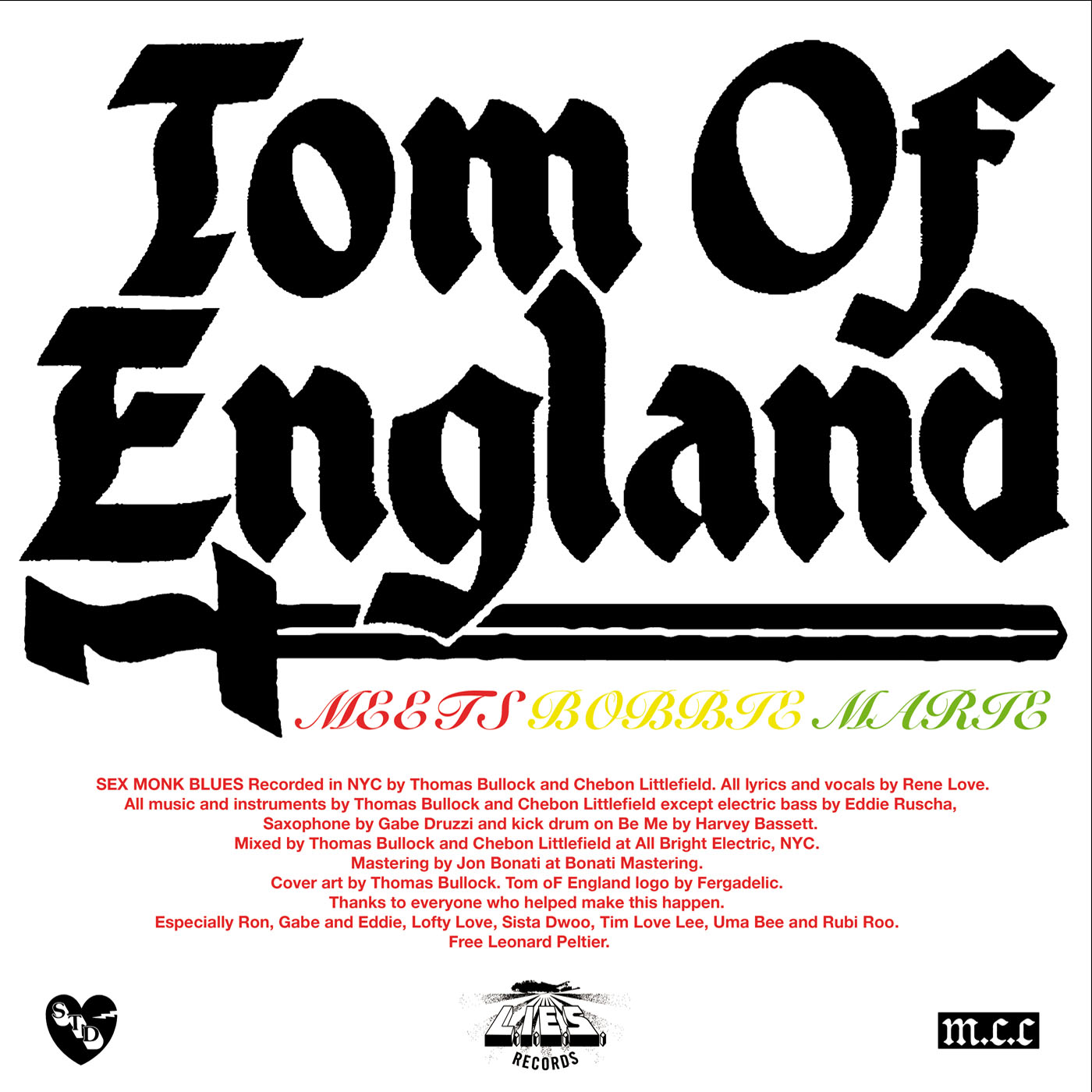 Tom of England - Sex Monk Blues