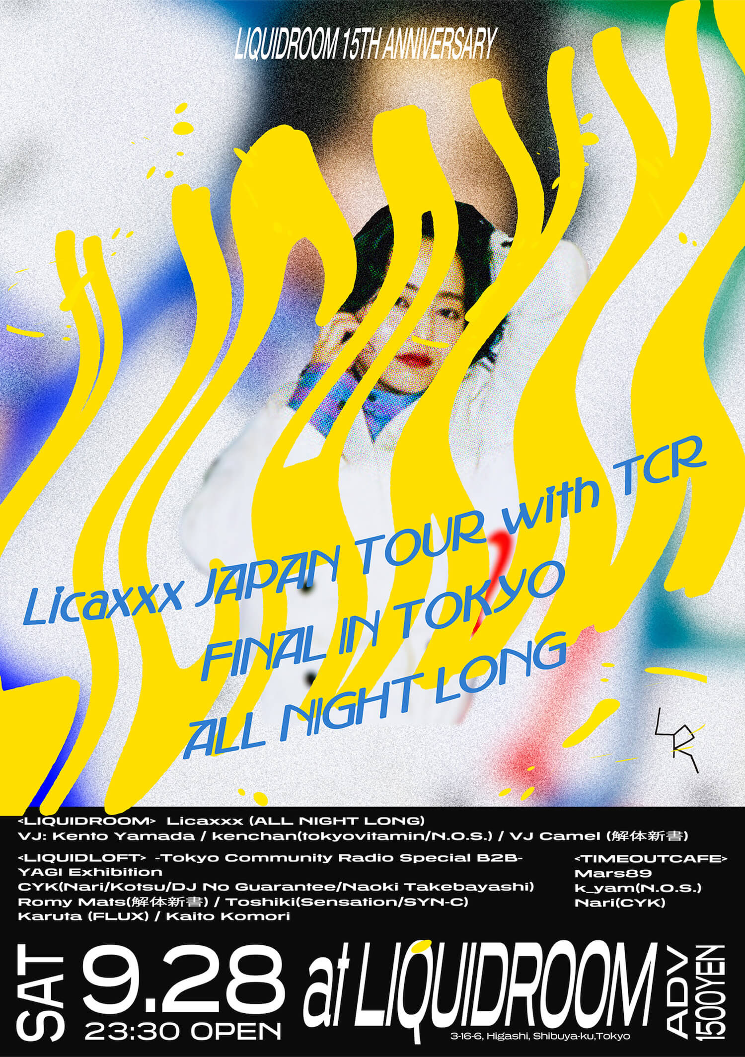Licaxxx Japan Tour With TCR Final in TOKYO ALL NIGHT LONG