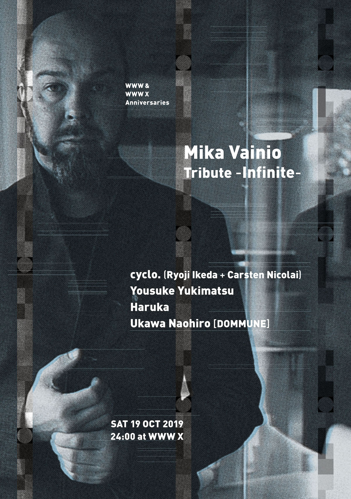 10.19 Mika Vainio Tribute - Infinite - at WWW X