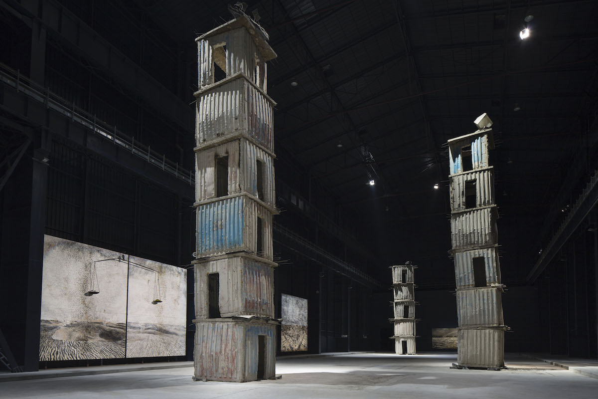 Anself Kiefer The Seven Heavenly Palaces 2004-2015. Courtesy Pirelli HangarBicocca. Photo by Agostino Osio
