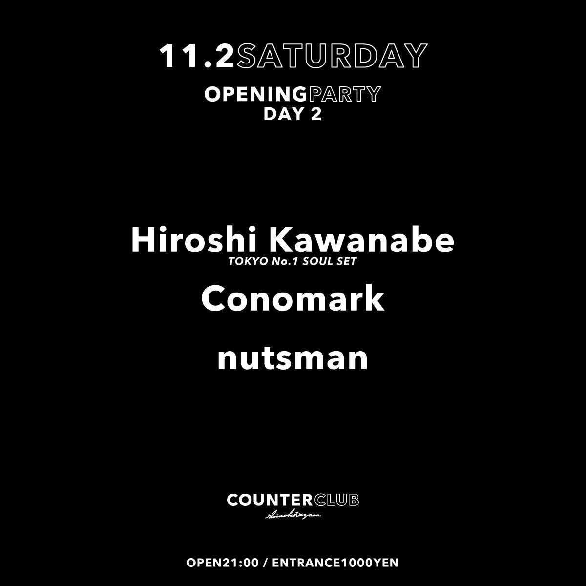 COUNTER CLUB Opening Party Day2