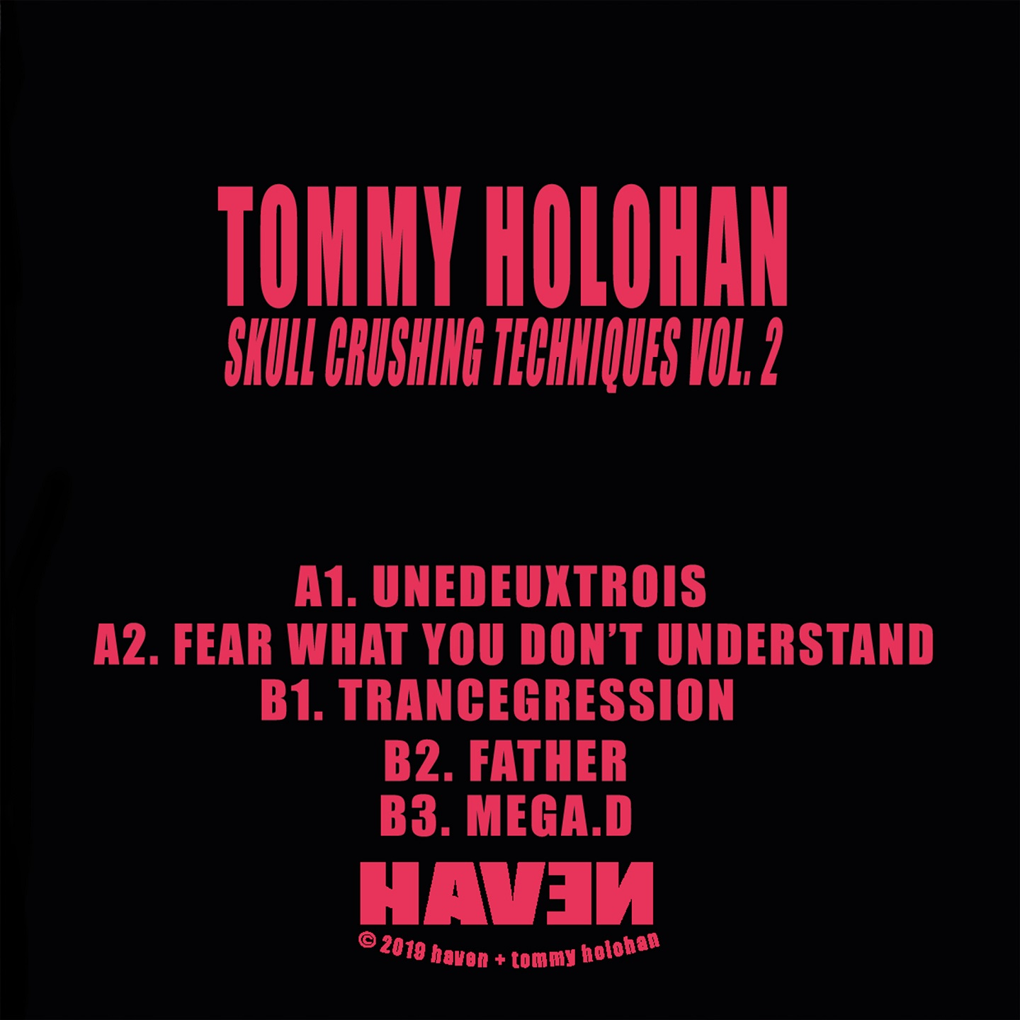 Tommy Holohan - Skull Crushing Techniques Vol.2