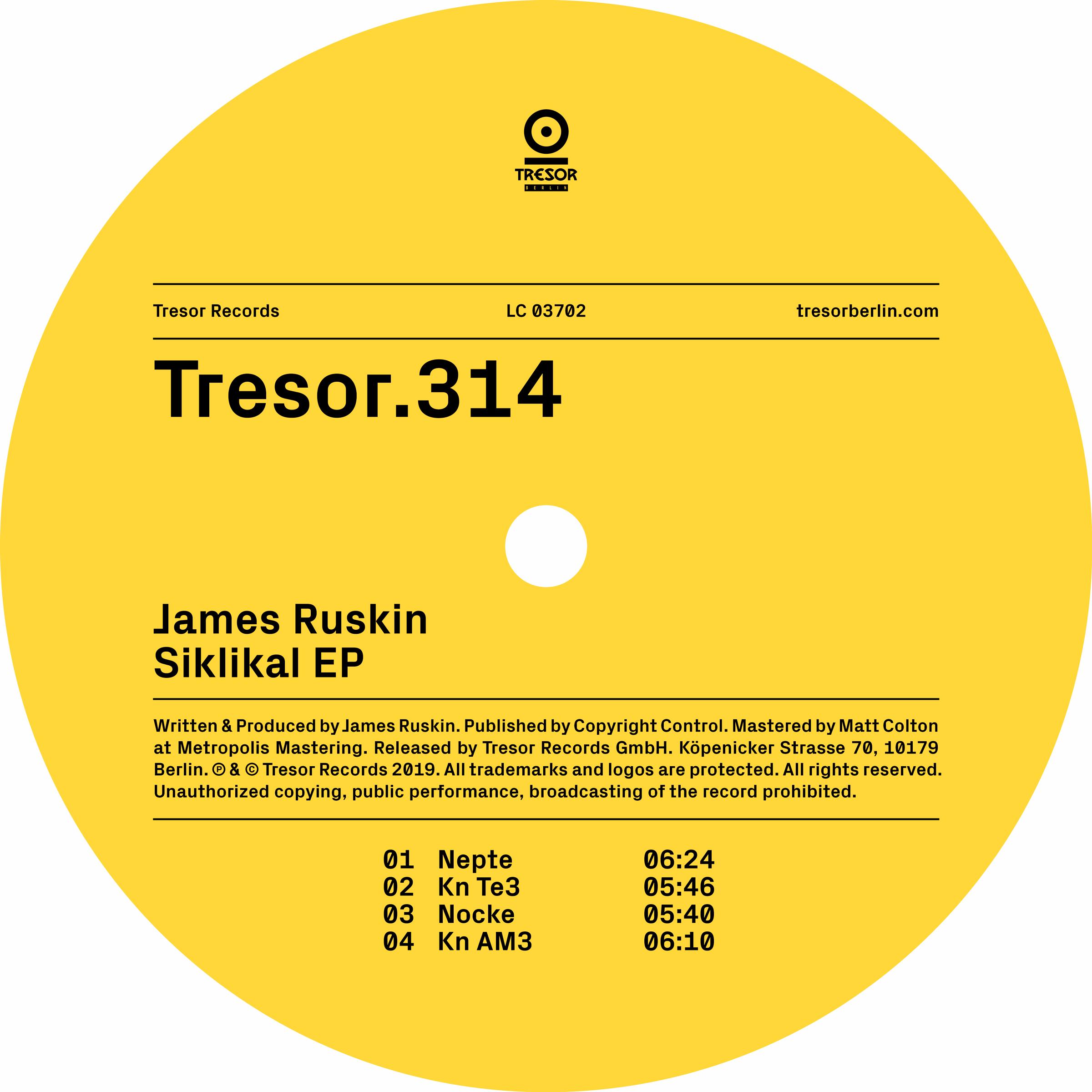 James Ruskin - Siklikal EP