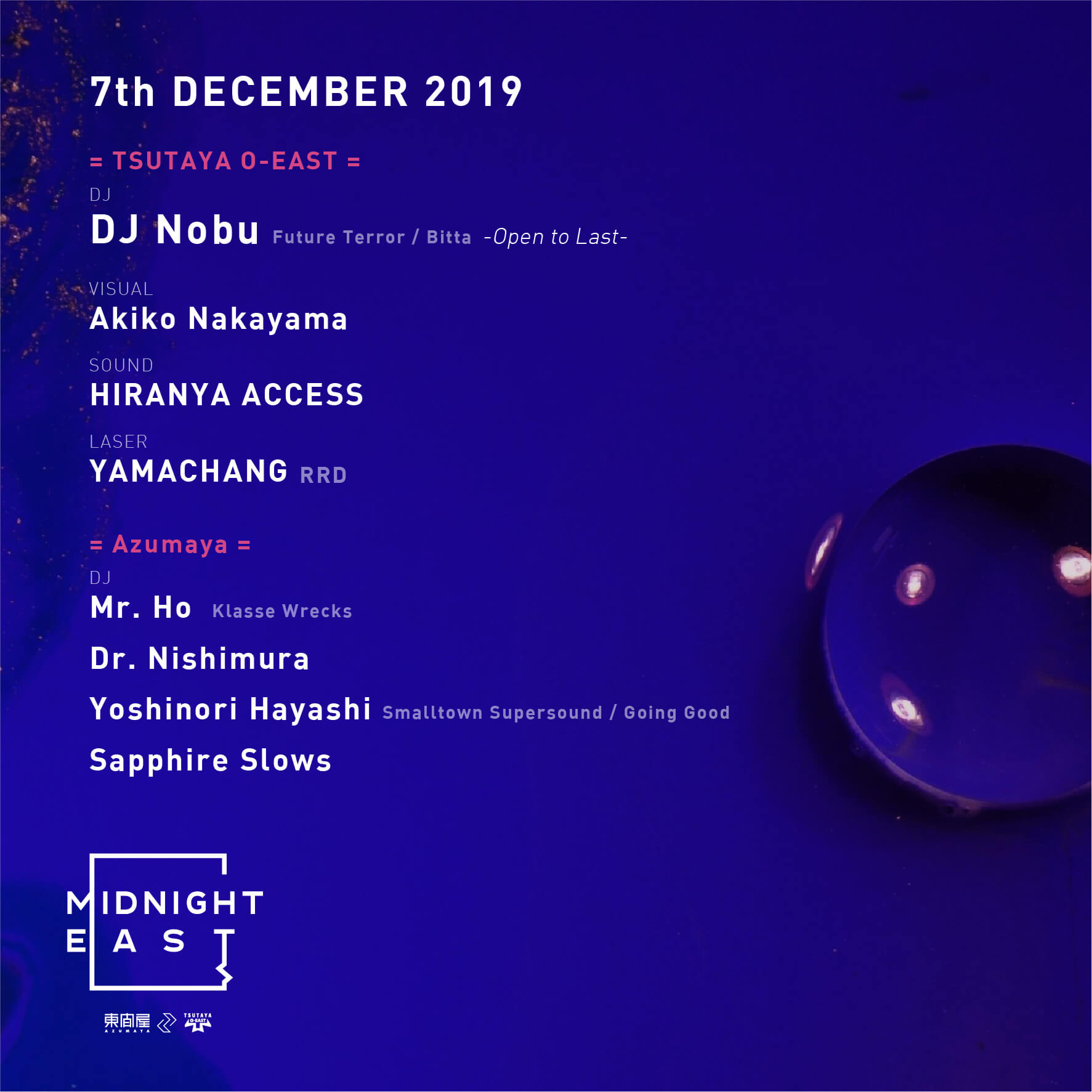 DJ Nobu –Open to Last–