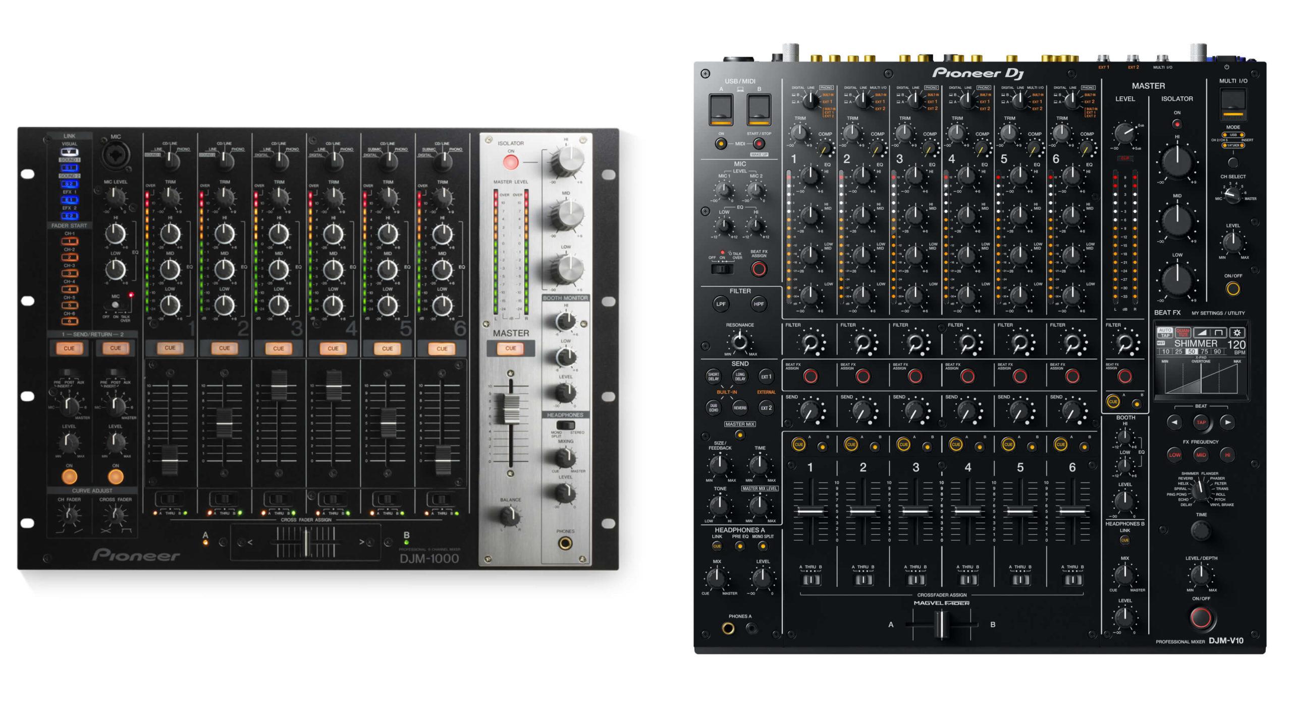DJM-1000 & DJM-V10