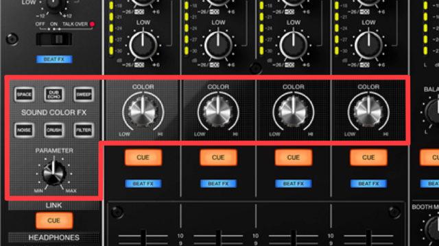 DJM-900nxs2 SOUND COLOR FX