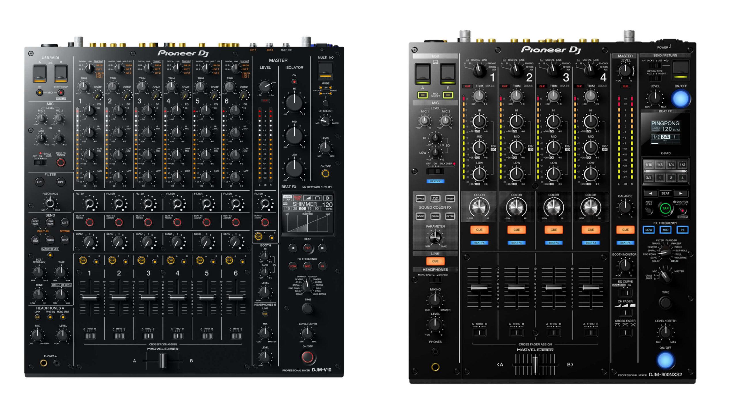 DJM-V10 & DJM-900NXS2