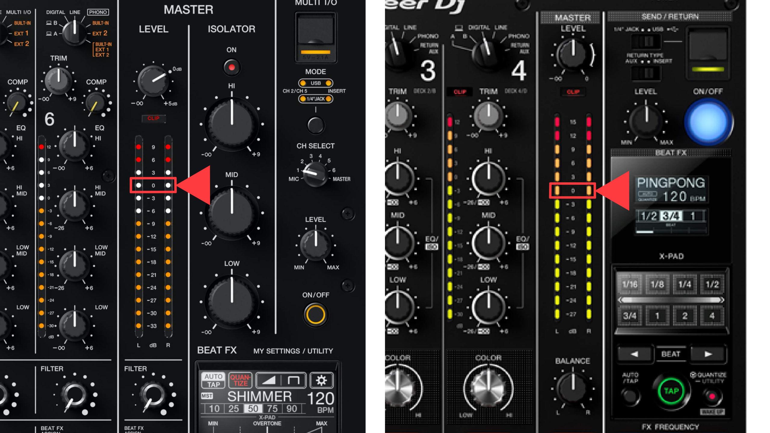 DJM-V10 & 900NXS2 MASTER LEVEL