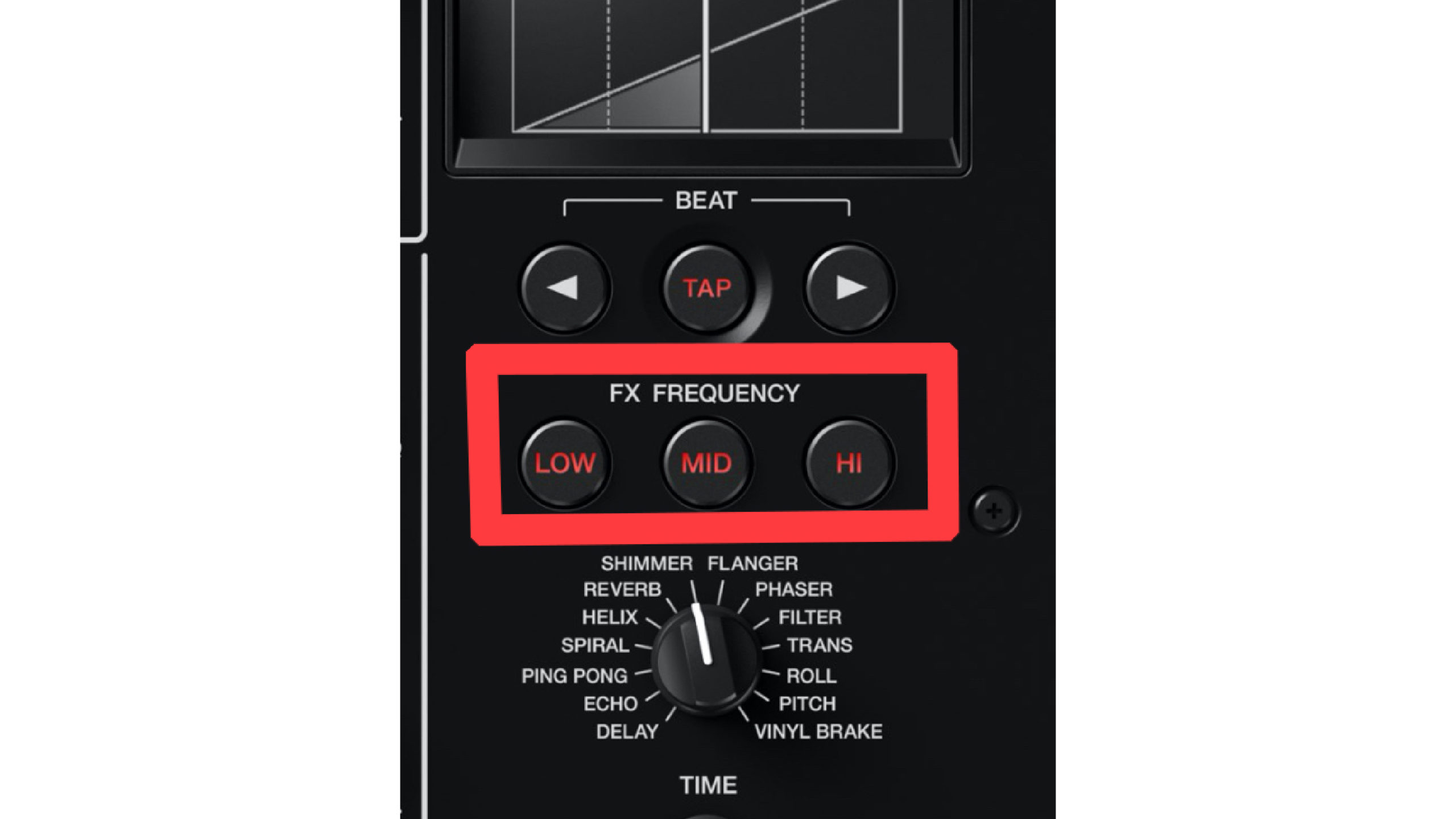 DJM-V10 BEAT FX FX FREQUENCY