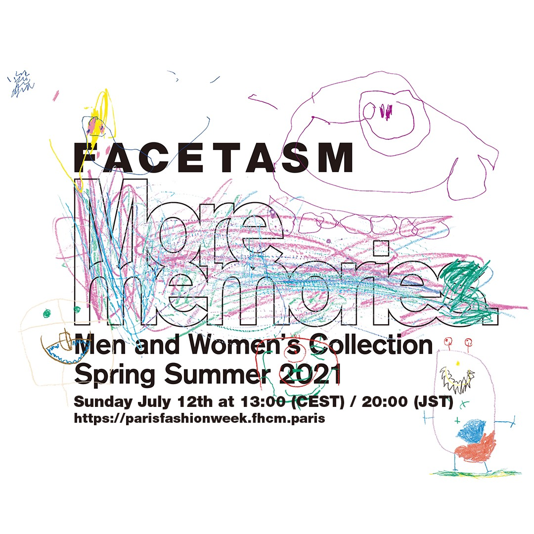 FACETASM Men and Women's Collection Spring Summer 2021