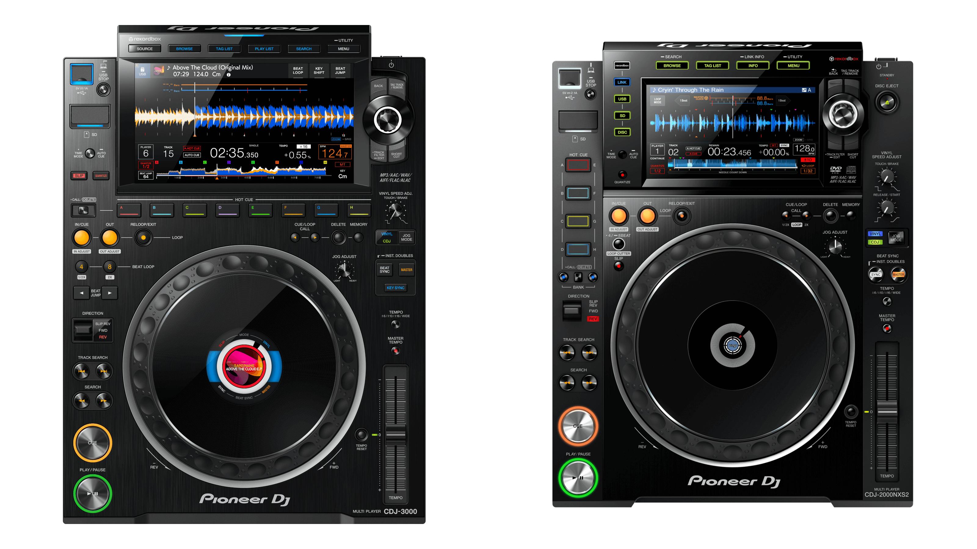 CDJ-3000 & CDJ-2000NXS2