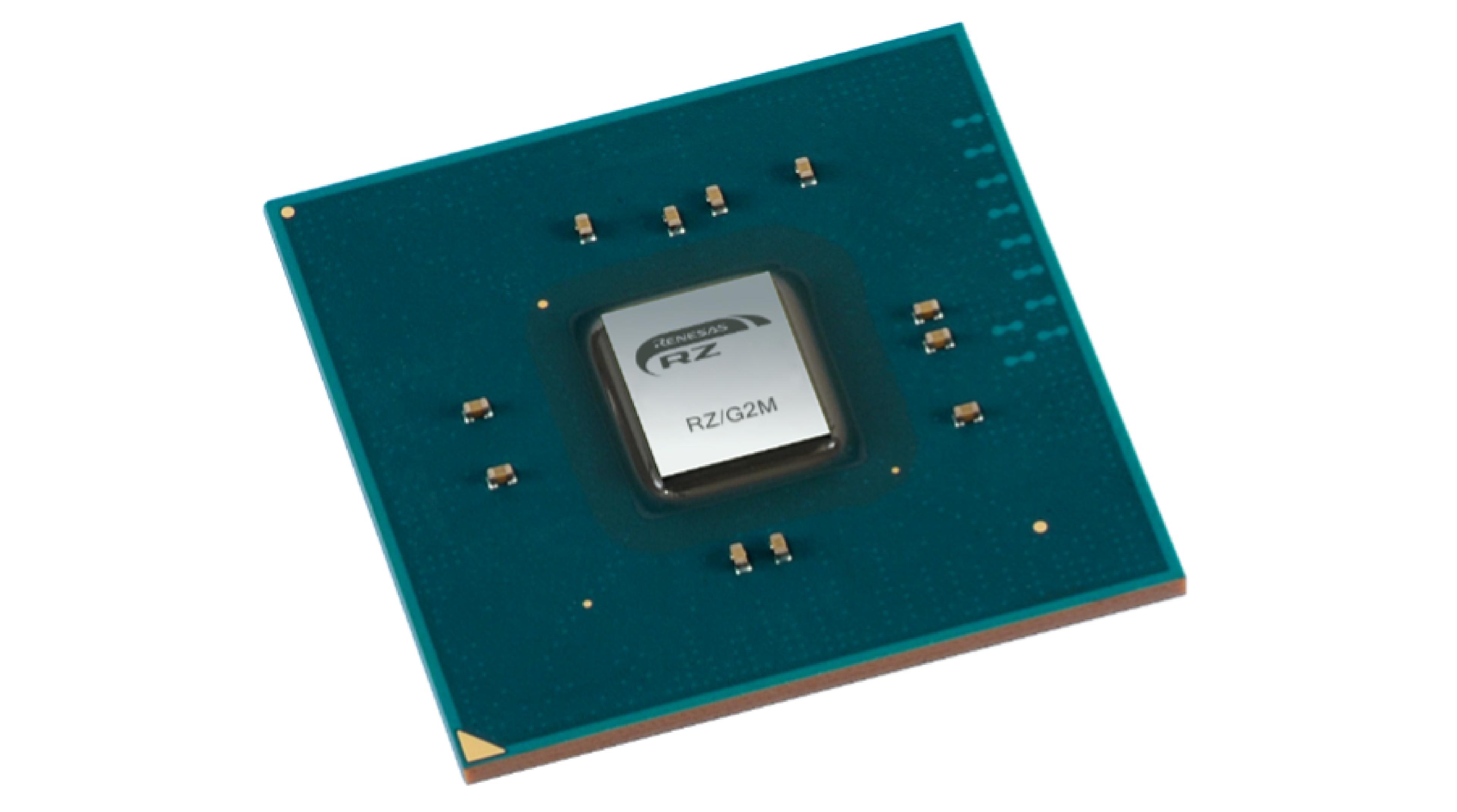 CDJ-3000 MPU chip
