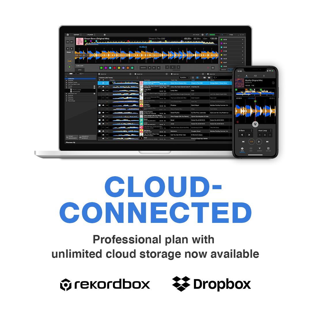 rekordbox for Mac/Windows Professionalプラン